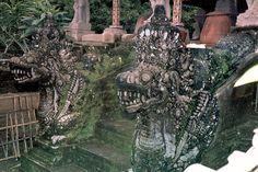 Tampaksiring Naga (Dragons). Gunung Kawi Temple. Bali