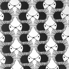 Hedgehog wrapping paper. by Summerchild1973shop on Etsy, $2.00