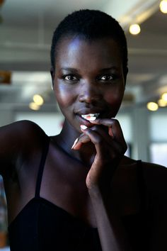 Model Nykhor Paul Blasts Makeup Artists for Being Unprepared to Work With Her Skin Tone - Clutch Magazine