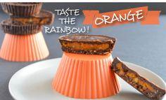 Taste the Rainbow [Orange]: Pumpkin Pie Butter Cups – Fiterazzi