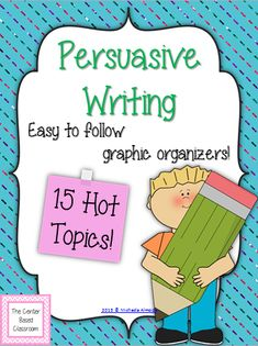 persuasive essays for kids to read