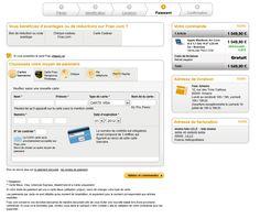 Fnac.com l'etape du paiement par Mathieu