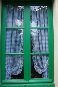 Monet's kitchen window at Giverny