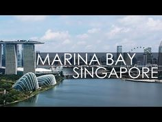 Marina Bay Singapore drone flight footage - YouTube Marina Bar, Singapore City, Gardens By The Bay, Youtube, Youtubers, Youtube Movies