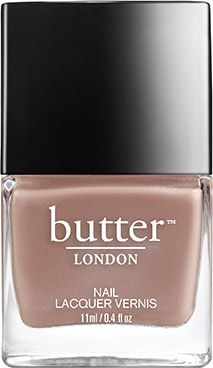 Another polish collection from across the pond, various shades have made appearances on runways all over the world but the brand stays true to its Anglophile roots with Brit-slang names, like Sloane Ranger and Knackered.  Nail Lacquer in Yummy Mummy, $15, butterlondon.com