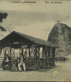 A. Ribeiro. Urca e Pão d'Assucar. c. 1905. Rio de Janeiro