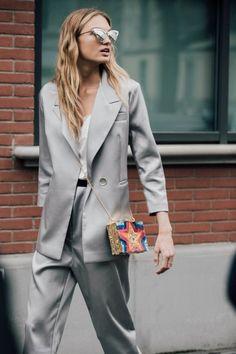 Streetstyle: Неделя моды в Милане, часть 1 | Vogue Ukraine