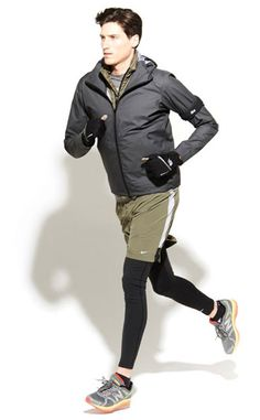 How to Pull Off Layered Winter Workout Style: Running