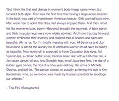 tina fey speaks the truth.