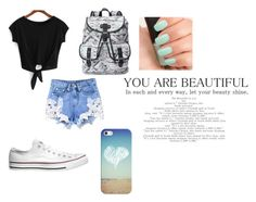 We had that summer thing by nickzashleym on Polyvore featuring polyvore, fashion, style, Converse, Candie's, Casetify, NARS Cosmetics and clothing