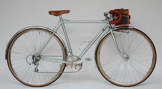 Higashiya from Ehime, Touring Bicycles, Bicycle Types, Velo Vintage, Bike Packing, Bicycling, Steel, Golden Age, Backpacking