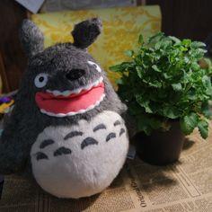 Totoro bocca aperta misura medio originale studio ghibli,miyazaki,