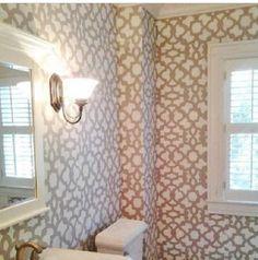Wall pattern.