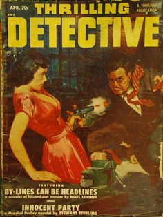 artist unknown / Thrilling Detective, Apr.1951
