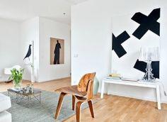 Maak een statement met een groot kunstwerk in huis. Een groot ...