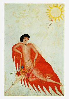 Florine Stettheimer: Portrait of Myself (1923)