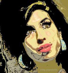 """arte digital music """"amy III"""" by rosy papatella"""