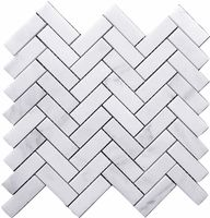 Premium Carrara Venato Herringbone Honed Marble Mosaic Tile Available online Exclusively from The Builder Depot. Honed Marble, Marble Mosaic, Stone Mosaic, Calacatta Gold, Hexagon Mosaic Tile, Herringbone Backsplash, Tiles Price, Outdoor Flooring, Kitchen Backsplash