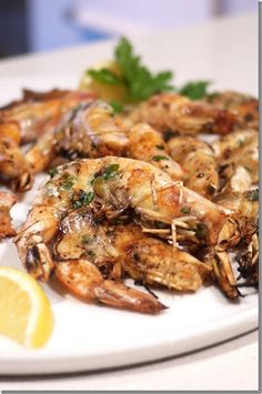 BBQ prawns Asian & Western style