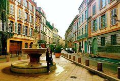 #Toulouse #France #romantic  #villemédiévale #MedievalCity #medieval