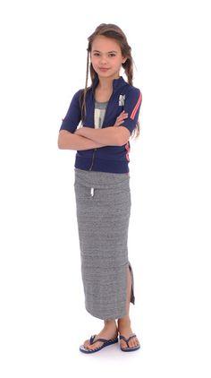 Jacket polo navy Br@nd for girls summer 2016 www.brandforgirls.nl