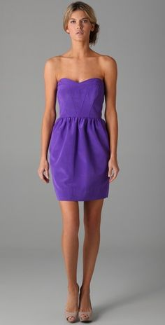 Shoshanna.. Still kicking myself for not wearing this to purple ball!
