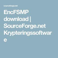 EncFSMP download | SourceForge.net    Krypteringssoftware
