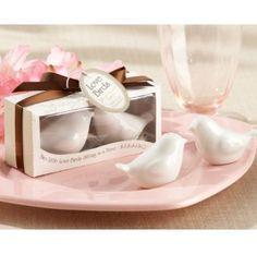 Lovebirds in the Window Ceramic Salt & Pepper Shakers #bridalshowergifts