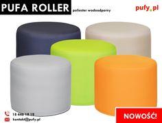 Jednym z najnowszych produktów które są u nas dostępne, są rollery z poliestru wodoodpornego. Mamy zatem produkt, który podobnie jak inne nasze rollery jest wytrzymały i wygodny, a dodatkowo nie łatwo go pobrudzić. Idealny dla dzieci!  #roller #pufka #meblewodoodporne #mebledladzieci #podnóżek #pufaroller