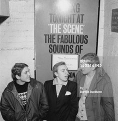 Mods at The Scene club in Soho London circa 1964. Photo by David Redfern
