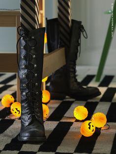 D corez votre table pour halloween on pinterest for Pieds table basse ikea