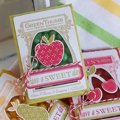 Jelly Belly Seed Packets by Betsy Veldman for Papertrey Ink