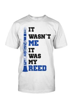 It Was My Reed Men's Shirt(White)