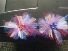 Tulle hair bows!