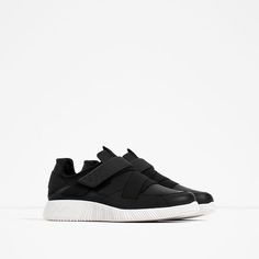 Image 1 of HOOK AND LOOP SNEAKERS from Zara