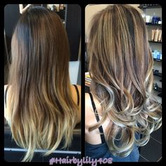 Hair By Lily - San Jose, CA, United States. Back view- ombré balayage