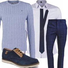 6d677cbe69 Bluemoon: outfit uomo Business/Elegance per ufficio e serata speciale |  Bantoa