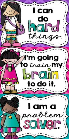 Growth Mindset Posters - A Growth Mindset is something that can be taught! Encourage a Growth Mindset in your classroom by hanging up these posters for your students to see! Classroom Rules, Classroom Behavior, Classroom Posters, School Classroom, Classroom Organization, Classroom Management, Future Classroom, Cafeteria Behavior, Mindful Classroom
