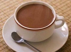 Receita de Chocolate Quente Cremoso - Cyber Cook Receitas...
