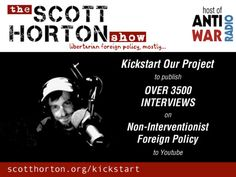 The Scott Horton Show to Publish 3500+ Interviews to Youtube's video poster