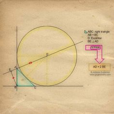 Sketch of Geometry Problem 19: Geometry Problem 19: Isosceles Right Triangle, Excenter, Perpendicular, Congruence, Auxiliary Lines, iPad Apps