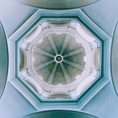 I LOVE how the perspective on this dome makes it look almost Space Odyssey futuristic