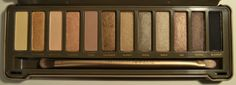 Naked 2 Palette Review