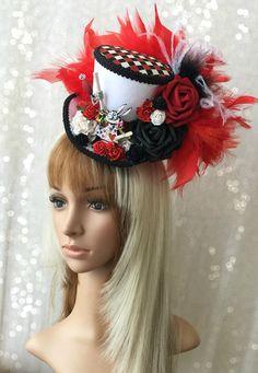 Mini sombrero de Copa Alicia en el país de las por ChikiBird