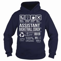 Awesome Tee For Assistant Basketball Coach