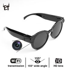 ET K11 Smart Glasses WiFi Camera HD Glasses Eyewear DVR Video Recorder 1080P Snapshot Camera Sun Riding Glasses Mini Camcorder  Price: 55.77 & FREE Shipping  #quadcopter #drone #aerialphotography #FPV Sports Camera, Oval Sunglasses, Wide Angle, Camcorder, Hd 1080p, Consumer Electronics, Wifi, Eyewear, Stuff To Buy