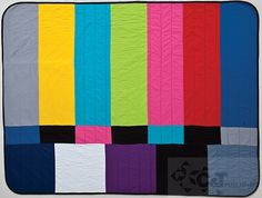 Betz White's quilt from the book We Love Color by C&T Publishing