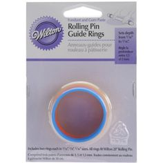 Wilton Fondant 20Inch Rolling Pin Guide Rings -- You can get additional details at the image link.