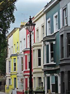 Multicolor, Notting Hill, London Notting Hill London, London England