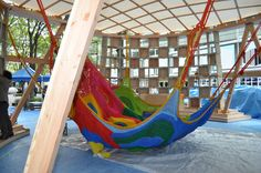 Meet the Artist Behind Those Amazing, Hand-Knitted Playgrounds,© Masaki Koizum